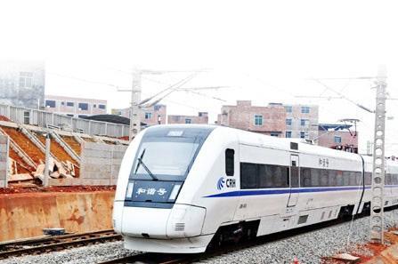 上海至广西南宁火车